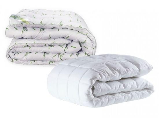 Какое одеяло лучше бамбук или холлофайбер?