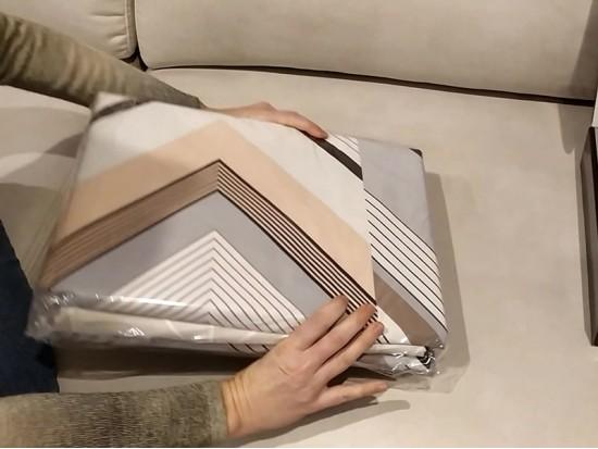Видео обзор постельного белья из сатина тм Таг текстиль