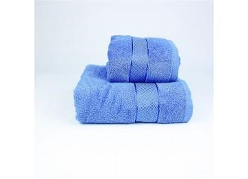 Набор махровых полотенец БС0008 50х90, 70х140 голубой