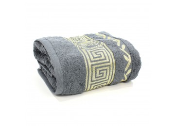 Terry towel BR0015 Greece 70x140 dark gray