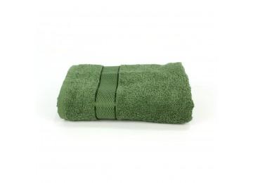 Полотенце махровое БС0017 50х90 зеленое