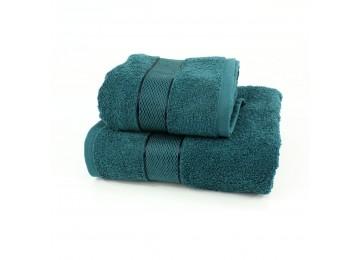 Набор махровых полотенец БС0014 50х90, 70х140 бирюзовый