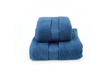 Набор махровых полотенец БС0015 50х90, 70х140 синий