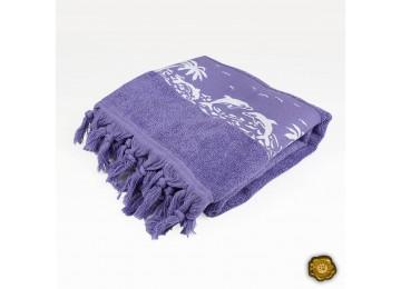 Terry beach towel PEZH0002 70x140 purple