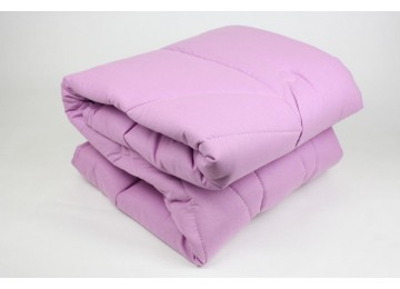 Одеяло силиконовое микрофибра евро (0045) Еней-Плюс фиолетовое