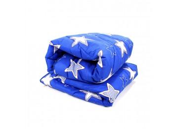 Silicone microfiber blanket euro (0112) Enei-Plus blue
