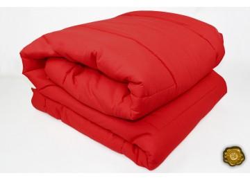 Силиконовое одеяло микрофибра 1,5 (0073) Еней-Плюс красное