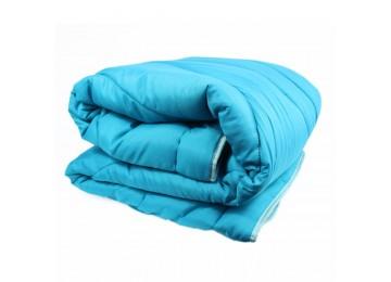 Силиконовое одеяло микрофибра евро (0083) Еней-Плюс бирюзовое