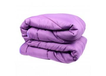 Силиконовое одеяло микрофибра евро (0084) Еней-Плюс фиолетовое