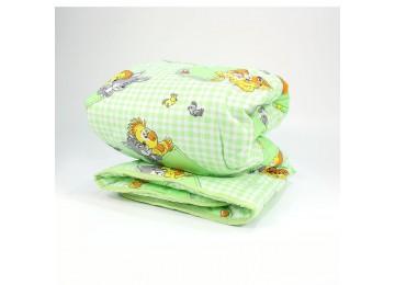 Одеяло детское гипоаллергенное чехол натуральный 0091