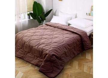 Силиконовое одеяло 200x220 MI003 коричневое