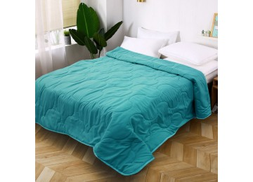 Silicone quilted summer blanket turquoise 1,5 0022 Eney Plus
