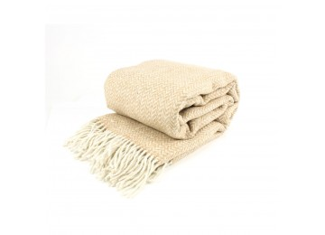 Half-woolen blanket 0037 140х200