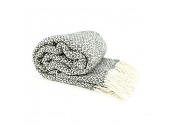 Half-woolen blanket 0038 140х200