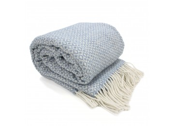 Half-woolen blanket 0040 140х200