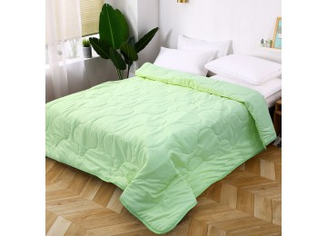 Bedspread microfiber light green МІ0006-2 (160х220) Eney Plus