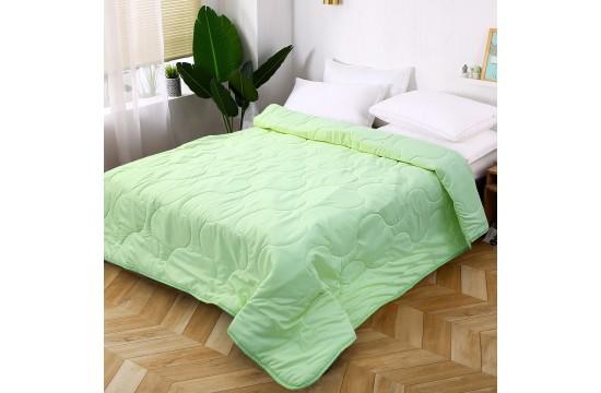 Покрывало на кровать микрофибра светло-зеленое МІ0006-2 (160х220)