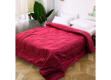 Bedspread microfiber red МІ0004 (160х220) Eney Plus