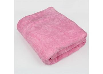 Махровое покрывало М0015 (200x220) розовое