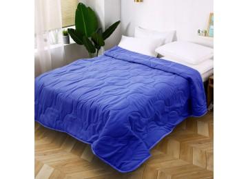 Quilted bedspread from microfiber blue МІ0021 (160х220) Eney Plus