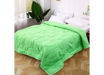 Bedspread microfiber green МІ0006 (200х220) Eney Plus
