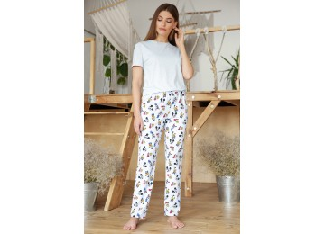 Pajamas Joyce-2 tm Glem blue-Mickey Mouse