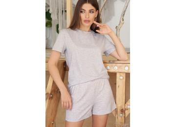 Pajamas Joy-2 tm Glem gray-pink hearts