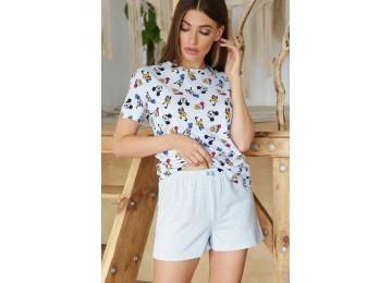 Pajamas Joy-1 tm Glem blue-Mickey Mouse
