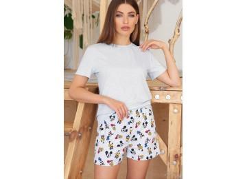 Pajamas Joy-2 tm Glem blue-Mickey Mouse