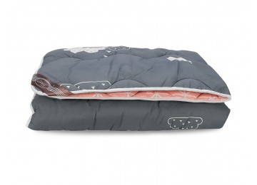 Blanket warm Alaska wool Cotton Leleka-Textile 172х205 Р293