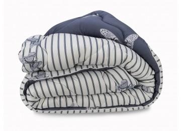 Lightweight woolen blanket Leleka-Textile 140х205 С61_62