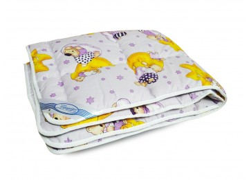 Детское одеяло шерстяное 105х140 БД83 тм Leleka textile