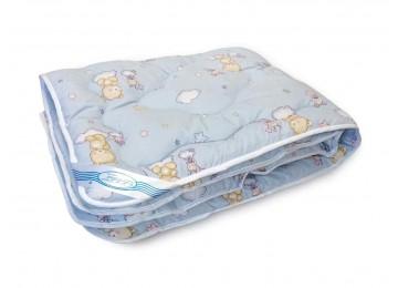 Детское одеяло шерстяное 105х140 БД75 тм Leleka textile