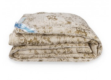 Одеяло Овечья шерсть, зимнее Leleka-Textile 172х205 М12