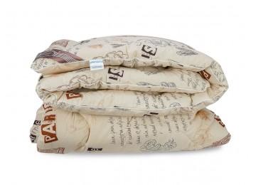 Шерстяное одеяло стандарт Leleka-Textile 172х205 С93