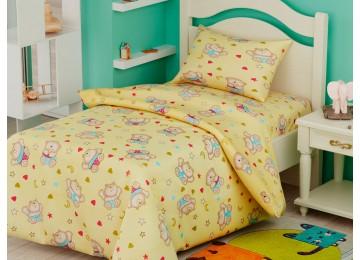 Детское постельное белье ранфорс БД-101 Leleka-Textile 105х140 в кроватку