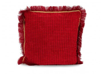 Подушка Деко Leleka-Textile 38х38 красный