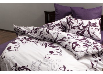 """Bed linen coarse calico gold """"Venzelya"""" code: Г0185 double RGTF"""