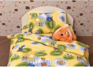 Детское постельное белье Little summer код: Г0094 в кроватку RGTF