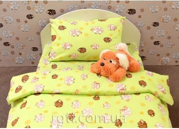 Детское полуторное постельное белье Barashiki greenкод: Г0080 RGTF