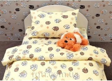 Детское постельное белье Barashiki yellow код: Г0077 в кроватку RGTF