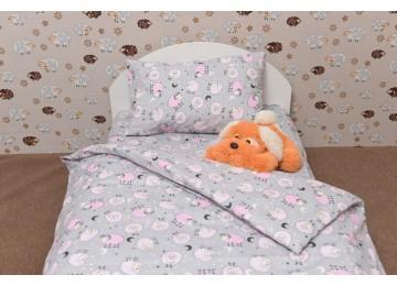 Детское постельное белье Funny lamb Код: Г0268 в кроватку RGTF