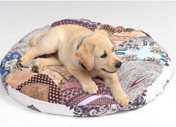 "Подушка для собак и котов ""ОВАЛ"" лежак без бортика 50х40х7см RGTF"