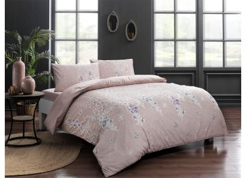 One and a half bed linen set from ranforce TAC Sarah Pink