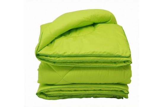 Set Summer Blanket + Pillowcases + Sheet Elegant One and a half Green