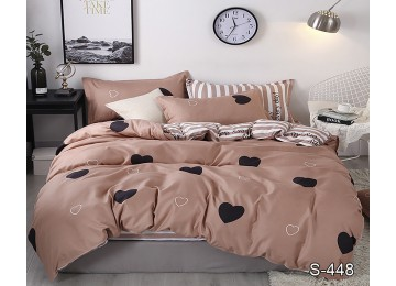 Bed linen satin euro with companion S448 tm Tag textil