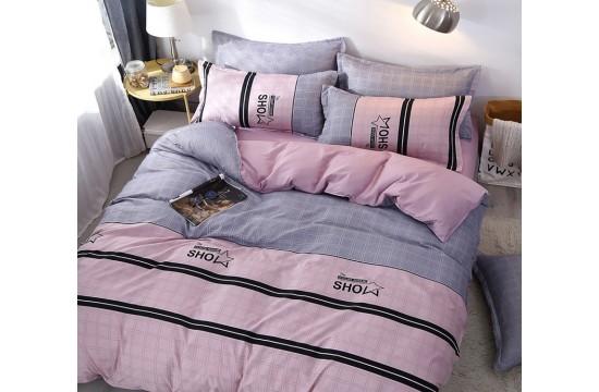 Постельное белье сатин люкс семейное с компаньоном S464 тм Tag tekstil