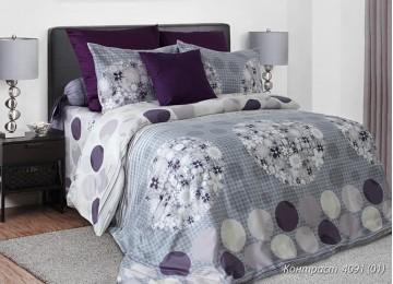 Contrast, coarse calico Belarusian bed linen Euro Comfort textiles