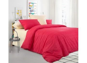 Эко 8+2, перкаль постельное белье двуспальное Комфорт текстиль