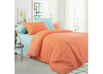 Эко 1+6, перкаль постельное белье полуторное Комфорт текстиль